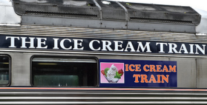 ice cream train